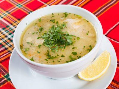 Пилешка супа Гюрлата